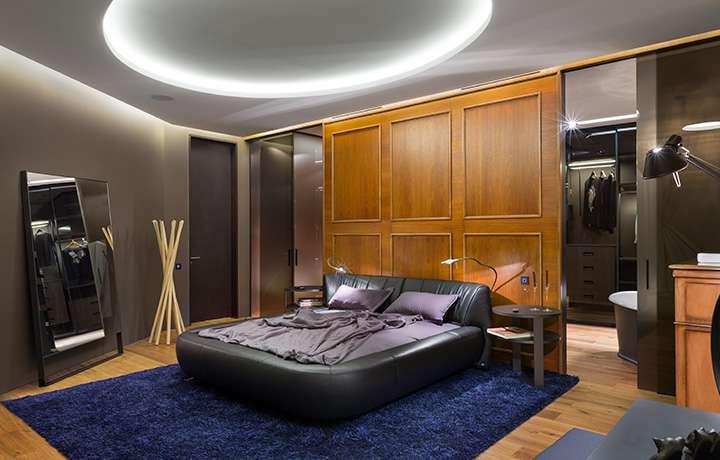 Апартаменты на Грушевского, управление аудио, мультириум, домашний кинотеатр, климат контроль, видеонаблюдение, инженерная сигнализация, Фото 4