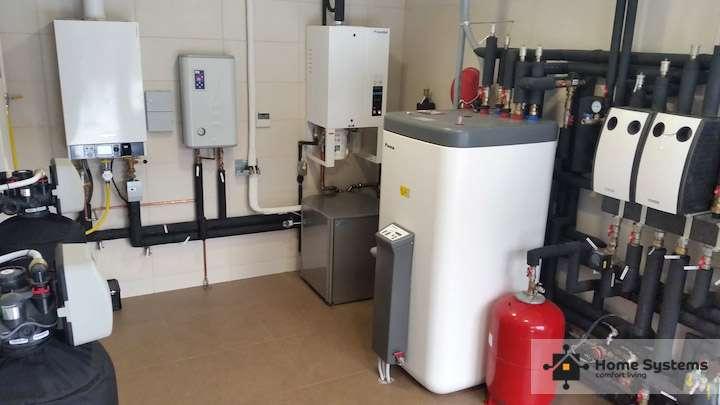Запустить систему отопления в частном доме, Loxone, домашняя Автоматизация Киев, фото 2