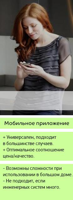 Диспетчеризация частного дома мобильное приложение